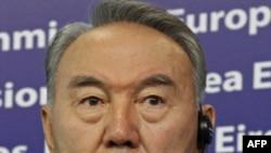 Презиеднт Казахстана Нурсултан Назарбаев