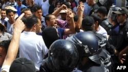 Протесты в Тунисе 15 июля 2011г.