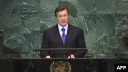 Виктор Янукович. Архивное фото.