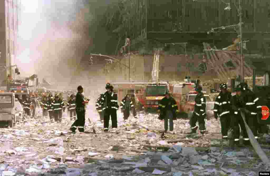 2001-yilning 11-sentabri, Nyu-York
