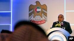 Премьер-министр Ирака Адиль Абдул-Махди, Абу-Даби, ОАЭ, 21 декабря 2014 года