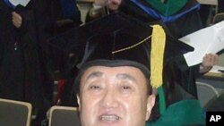 70살에 북한학박사학위를 받은 정행직씨