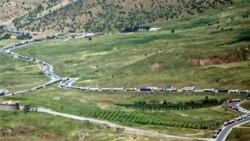 نظاميان آمريکايی با نيروی های عراقی در مرز مشترک عراق با ايران همکاری می کنند
