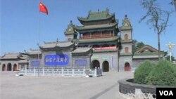 Mesjid Na Jia Hu di Ningxia yang berumur lebih dari 500 tahun dan salah satu mesjid tertua di Tiongkok. (foto: dok)
