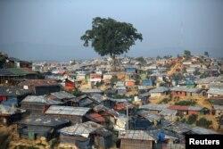 ဘဂၤလားေဒ့ရွ္ႏိုင္ငံ Cox's Bazar ခရိုင္ရွိ ရိုဟင္ဂ်ာဒုကၡသည္စခန္း ျမင္ကြင္း။ (ဒီဇင္ဘာ ၁၀၊ ၂၀၁၈)