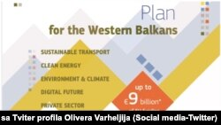 Cover of the new investment plan by the EU for the Western Balkans