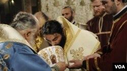 ილია მეორე და წალკელი ეპისკოპოსი გრიგოლ კაცია