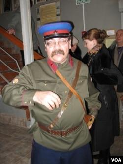 博物馆领导人哈涅维奇 (美国之音白桦拍摄)