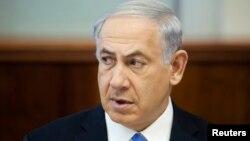 以色列總理內塔尼亞胡 (資料照片)