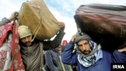 فرار خانواده های عراقی