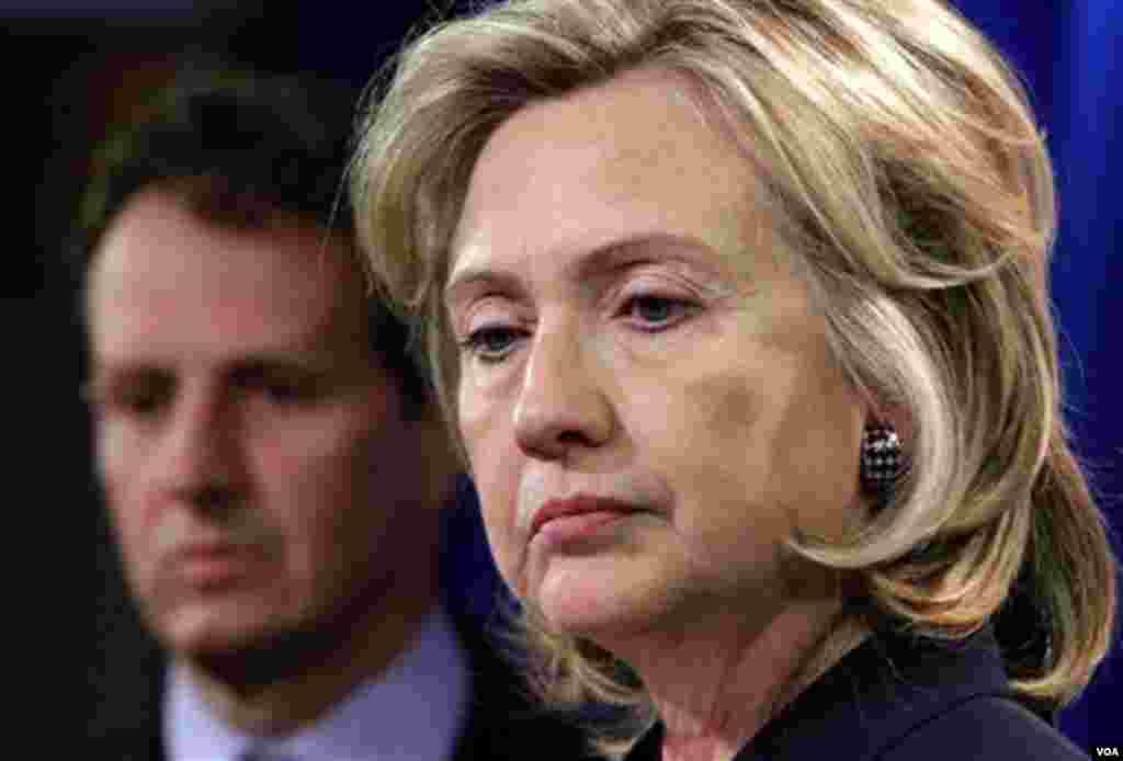 Državna tajnica Hillary Rodham Clinton boraviće na Balkanu od 11. do 14. oktobra. Tokom turneje - kako je najavila - obići će Sarajevo, Prištinu i Beograd (AP Photo/J. Scott Applewhite)