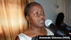 Josefa Rebeca Cangombe, governadora do Namibe