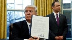 TPP က အေမရိကန္ႏုတ္ထြက္ဖုိ႔ Trump အမိန္႔ထုတ္