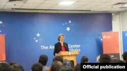 Marcia Bernicat, mantan Duta Besar AS untuk Bangladesh. (Foto: Istimewa)