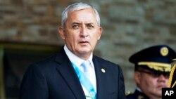 Tổng thống Guatemala Otto Perez Molina.