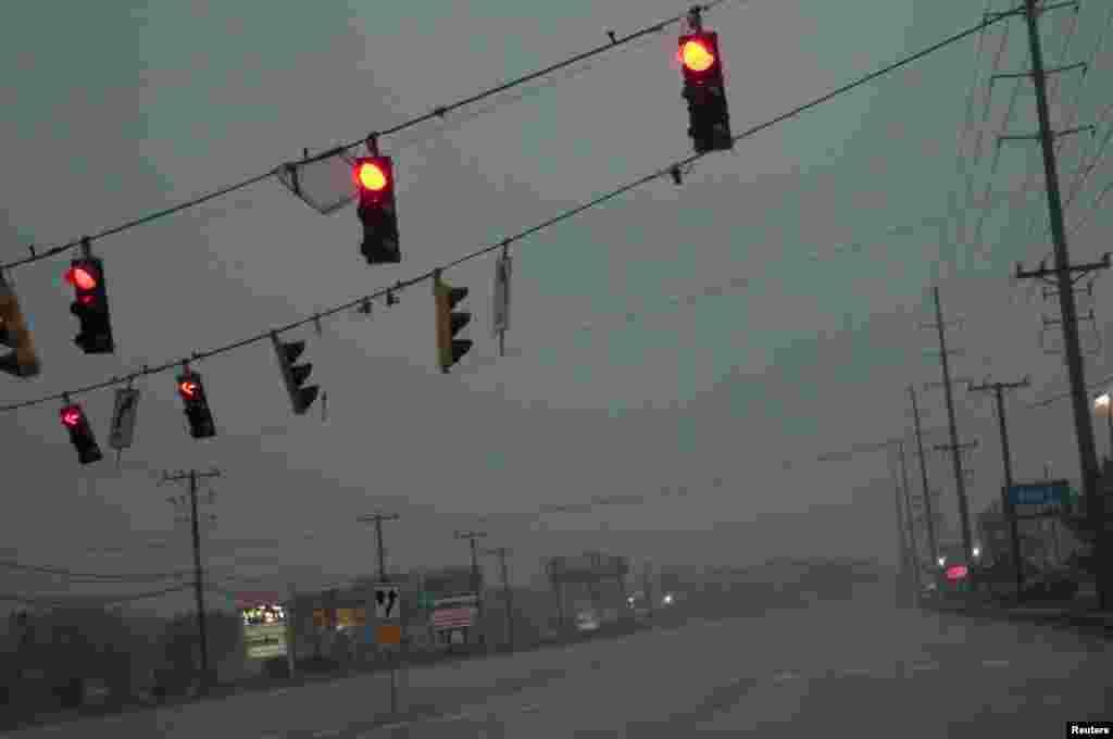 Ураган «Сэнди». Городок Рехобот-Бич, штат Делавэр