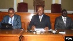 Harare Mayor Bernard Manyenyeni