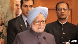 Thủ Tướng Ấn Ðộ Manmohan Sighn (ảnh tư liệu)