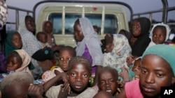 Abana n'abagore bakuwe mu maboko y'umutwe w'iterabwoba wa Boko Haram
