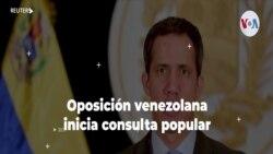 Oposición venezolana inicia consulta popular