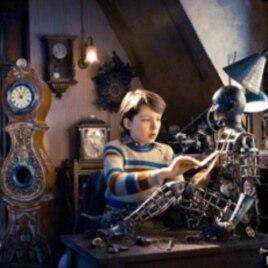 "Martin Scorcese's film ""Hugo."""