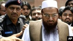 امریکا له پاکستان غوښتي چې حافظ سعید بیرته ونیسي او محاکمه کړي