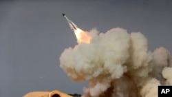 Iran đã bắn thử nhiều phi đạn đạn đạo kể từ thỏa thuận năm 2015, nhưng vụ thử mới nhất vào ngày 29/1 là vụ đầu tiên kể từ khi ông Trump bước vào Tòa Bạch Ốc. (Ảnh tư liệu)