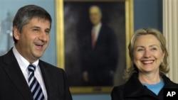 Hillary Clinton i Michael Spindelegger