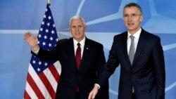NATO နဲ႔ ပူးေပါင္းေဆာင္ရြက္ဖုိ႔ ကန္ ဒုသမၼတ Pence အာမခံ