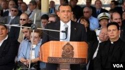 Mientras Honduras vivirá una jornada de protesta, el presidente, Porfirio Lobo, se encuentra en Portland, Oregon, en una reunión internacional del café.