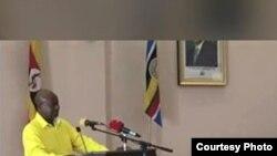 Perezida Yoweri Museveni ariko yuguruza ibiganiro bihuza abarundi