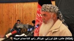 محمد اسماعیل خان وزیر پیشین انرژی و آب افغانستان و رهبر جهادی