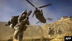 아프간 주둔 연합군. (자료사진)