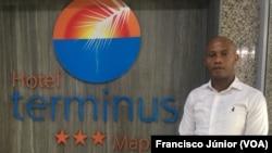 Luís Malagissa, gerente do Hotel Terminus