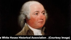 President John Adams. Courtesy The White House Historical Association