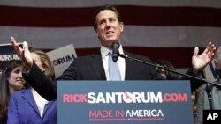 Former Republican presidential candidate Rick Santorum (File)