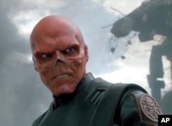 """Hugo Weaving as Red Skull in """"Captain America: The First Avenger"""""""