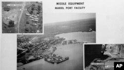 Sovetlarning Kubadagi qurollari surati, 1962-yil oktabr