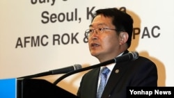 백승주 한국 국방부 차관. (자료사진)