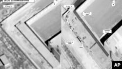 Satelitski snimak zatvora Sajdnaja