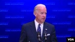 El vicepresidente Joe Biden dijo que la idea es promover un cambio cultural en la forma de gestionar las actividades del gobierno.