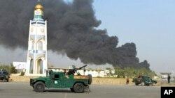 Một vụ đánh bom ở Afghanistan ngày 18/7.