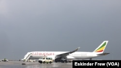 Un avion de la compagnie Ethiopian Airlines.