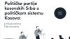Špetim Gaši iz Saveta za inkluzivno upravljanje, Jovana Radosavljević (Nova društvena inicijativa) i direktor Komunikacije za razvoj društva Ivan Nikolić (s leva) na konferenciji za novinare u Medija centru u Čaglavici (Foto: VOA)
