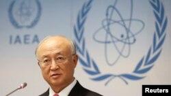یوکیا آمانو مدیر کل آژانس بینالمللی انرژی اتمی