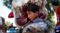 Palestinske izbeglice napuštaju domove u Gazi
