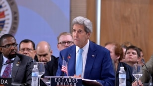 John Kerry at the OAS General Assembly