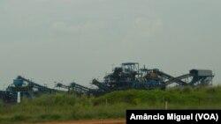 La mine de charbon de Mpumalanga, en Afrique du Sud.