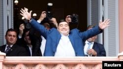 Maradona Argentina Casa Rosada