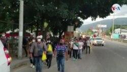 Unos 130 hondureños salen en caravana rumbo a Estados Unidos